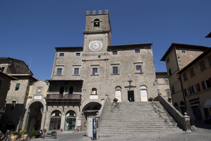 Cortona, city of art in Tuscany